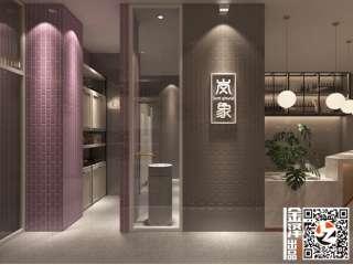 岚象烘焙店——金泽装饰设计施工