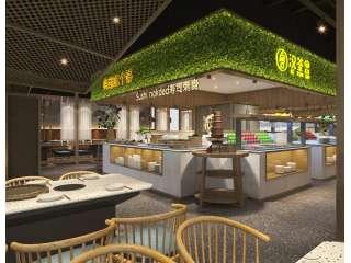汉釜宫自助烤肉餐厅-金泽设计出品